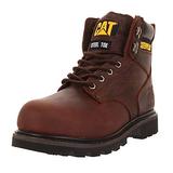 Caterpillar Men's Second Shift Steel Toe Work Boot,Dark Brown