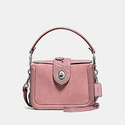Coach Women's Tea Rose Tooling with Applique Page Crossbody