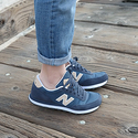 New Balance Women's 501 Textile Sneaker