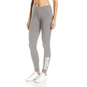 PUMA Women's Archive Logo T7 Leggings, Light Gray Heather, XL