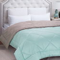 Bedsure Full/Queen Reversible Comforter Duvet Insert with Corner Ties-Quilted Down Alternative Comforter