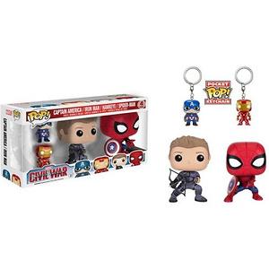 Funko Pop! Marvel Captain America Civil War Set
