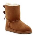 Nordstrom Rack:UGG 大童款蝴蝶结雪地靴