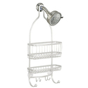 InterDesign York Lyra Bathroom Shower Caddy