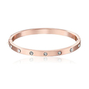 kate spade Set In Stone Rose Gold Bangle Bracelet
