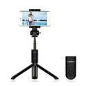 RIVERSONG Extendable Monopod with Bluetooth Remote Handheld Tripod