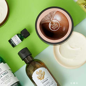 The Body Shop: 40% off + Free Shipping Hundreds of Favorites