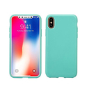 AnsTOP Soft Matte Silicone Gel iPhone X Case