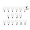 Philips LED A19 Non-Dimmable Light Bulb 16-Pack