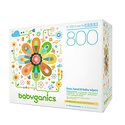 Babyganics Fragrance-Free Face Hand and Baby Wipes Pack of 8
