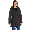 Tommy Hilfiger Women's Fitted Quilted Parka - XL