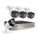 ZOSI 4-Channel FULL 1080P HD-TVI DVR Security System