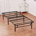 """Mainstays 14"""" High Profile Foldable Steel Bed Frame"""