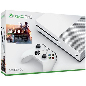Xbox One S 500GB Battlefield 1 主机套装