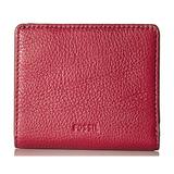 Fossil Emma Rfid Mini Wallet Raspberry Wine Wallet