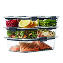 Rubbermaid Brilliance Food Storage Container 14-Piece Set