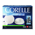 Corelle Livingware 10pc Dinnerware Set Winter Frost White