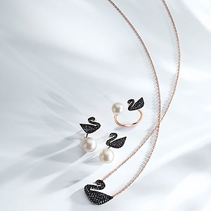Swarovski: Swan Collection 25% OFF