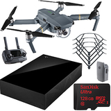 DJI Mavic Pro Quadcopter Drone with 4K Camera with 4TB External HD and 128GB Kit