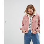 Asos粉色夹克