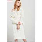Nelly Cable Knit Dress Set