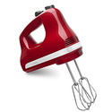 KitchenAid KHM512ER 5-Speed Ultra Power Hand Mixer - Empire Red