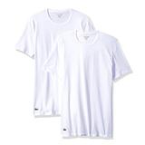 Lacoste Men's 2-Pack Colours Cotton Stretch Crew T-Shirt - XL