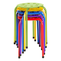 Norwood Commercial Furniture Plastic Stack Stools-Pack of 5