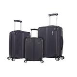"Rockland Hardside Spinner 3-Piece Luggage Set (20""/24""/28"")"