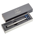 Parker 1955311 Jotter Colors Pen, Black and Chrome, Fountain Pen