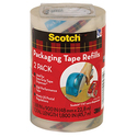 Scotch Packaging Tape Refill-2 Packs
