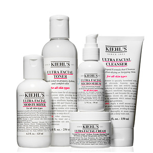 Kiehl's: $20 OFF $65 Ultra Facial Skincare Purchase+ 3 Free Samples