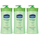 Vaseline Intensive Care Aloe Soothe Body Lotion-3ct