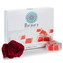 Marmara Authentic Turkish Delight with Rose Sweet Confectionery Gourmet Gift Box