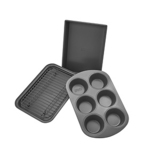 Chicago Metallic Professional 4-Piece Non-Stick Toaster Oven Bakeware Set