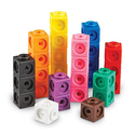 Learning Resources Mathlink Cubes, Set of 100 Cubes