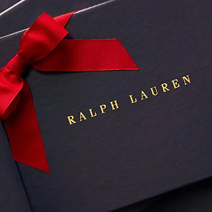 Ralph Lauren: Joy of Gifting Take 30% OFF Select holiday gifts
