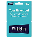 $50 StubHub Gift Card