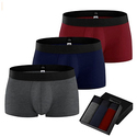 Mens Underwear Boxers Briefs-3 Pcs Pack