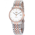 LONGINES Elegant Automatic White Dial Watch L48095127