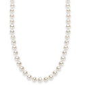 "18"" Cultured Freshwater Pearl Strand Necklace (7-8mm)"