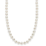 """18"""" Cultured Freshwater Pearl Strand Necklace (7-8mm)"""