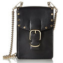 Rebecca Minkoff Biker Phone Crossbody, Black