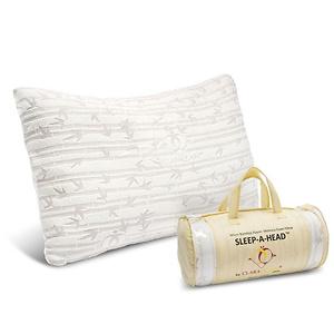 Memory Foam Bamboo Gel Pillow by Clara Clark