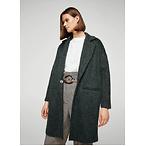 mohair-blend coat