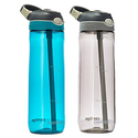 Contigo Autospout Ashland Water Bottle, 24oz , 2 Pack