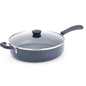 T-fal A91082 Specialty Nonstick Dishwasher Safe PFOA Free Jumbo Cooker Cookware