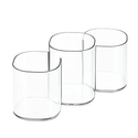 InterDesign Clarity Cosmetics Organizer Trio Cup