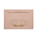 Ssense: Miu Miu 粉色蝴蝶结卡夹低至8折