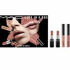 MAC 裸色唇釉口红套组